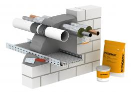 Insulation - Maintenance of the fire sections