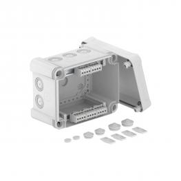 Junction box X 10 with terminal strip