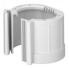 Pipe end cap, splittable, PG, light grey