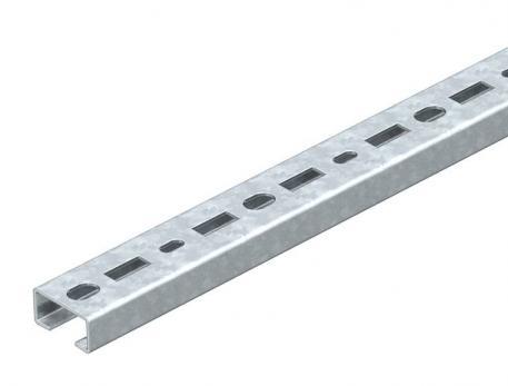 CM3015 profile rail, slot 16 mm, FS, perforated