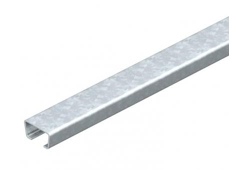 AML3518 anchor rail, slot 16.5 mm, unperforated
