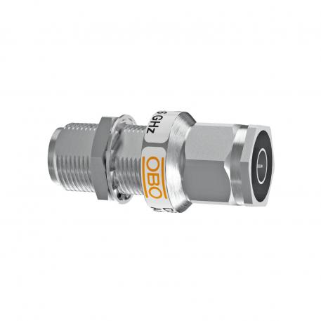 Coaxial protection device for N connection up to 6 GHz: Male/female