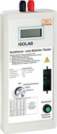 ISOLAB measuring system arrestor tester