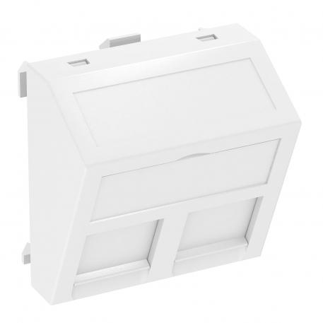 Data technology support, 1 module, slanting outlet, type RM