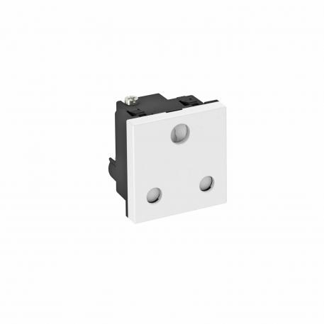 0° socket, South Africa/India, 16 A, single
