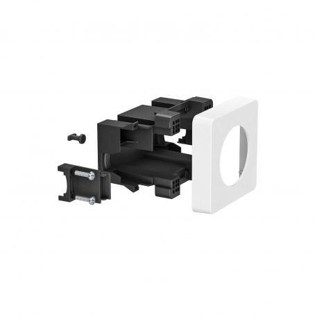 Accessory mounting box for CEE installation 16 A/32 A
