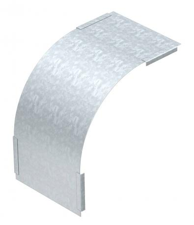 Cover for 90° vertical bend, falling, side height 60 mm FS