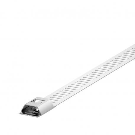 Metal strip clips, narrow