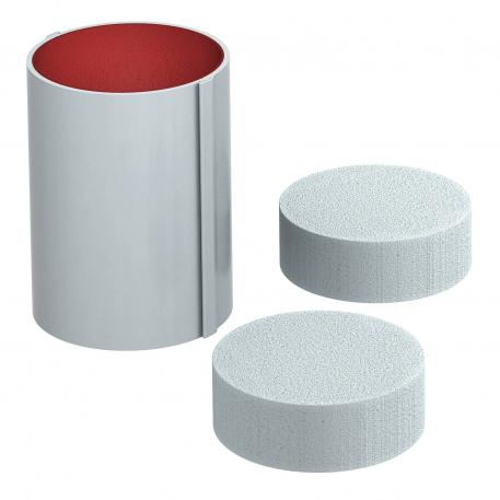 PYROCOMB® Intube pipe shell, Ø 120 mm