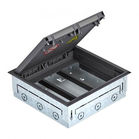 Underfloor box with GES9
