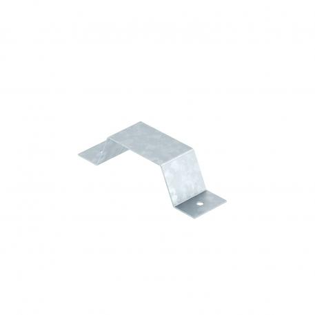 Fastening clamp for 1x PVC system, duct height 25 mm