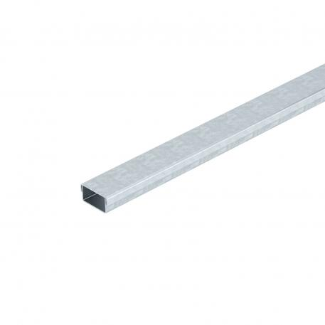 Underfloor duct MD 1-compartment, duct height 25 mm