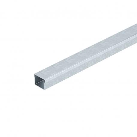 Underfloor duct MD 1-compartment, duct height 38 mm
