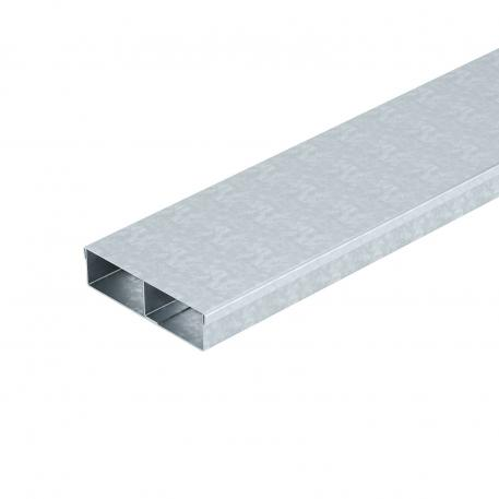 Underfloor duct MD 2-compartment, duct height 38 mm